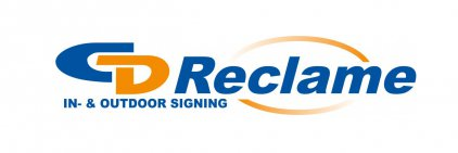 Logo CD Reclame In- & Outdoor signing
